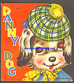 DANNY DOG Cute and Cuddly Diecut Shape BOOK 1950 (Image1)