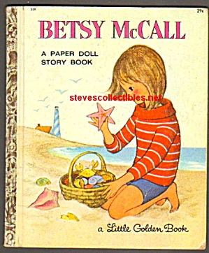 BETSY MCCALL PAPER DOLL STORY BOOK Little Golden Book (Image1)
