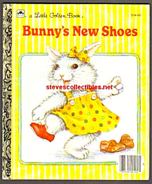 Bunny's New Shoes - Little Golden Book