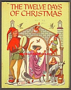 TWELVE DAYS OF CHRISTMAS, Wonder Book (Image1)