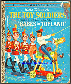 Disney - The Toy Soldiers - Little Golden Book
