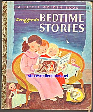 Tenggrens BEDTIME STORIES Little Golden Book (Image1)