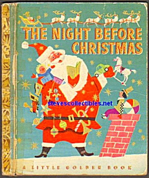 The Night Before Christmas - 1949 Little Golden Book
