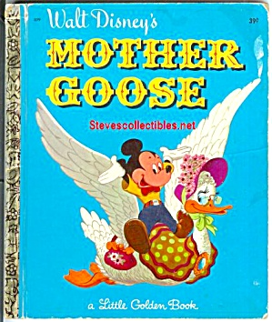 WALT DISNEY'S MOTHER GOOSE - Little Golden Book (Image1)