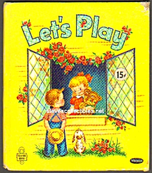 Let's Play TELL-A-TALE BOOK 1952 (Image1)