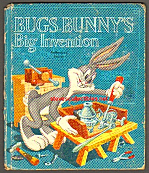 BUGS BUNNY'S BIG INVENTION - Tell-A-Tale Book (Image1)