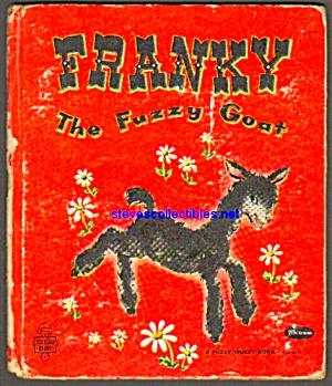 FRANKY THE FUZZY GOAT-Fuzzy Wuzzy Bk-Tell-A-Tale Book (Image1)