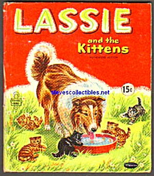 LASSIE AND THE KITTENS-Tell-A-Tale Book #2571 (Image1)