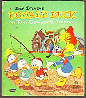 Donald Duck On Tom Sawyers Island - Tell-a-tale Book