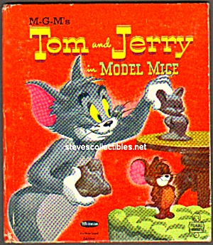 TOM AND JERRY Model Mice Tell-A-Tale Book (Image1)