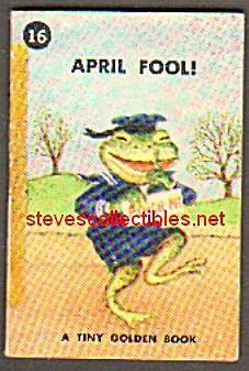 APRIL FOOL! Tiny Golden Book - 1949 (Image1)