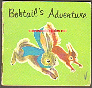 BOBTAIL'S ADVENTURE 1963 Miniature Book - Golden Press (Image1)