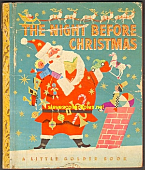 The Night Before Christmas Little Golden Book -1949