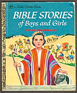 Bible Stories Of Boys And Girls Little Golden Book