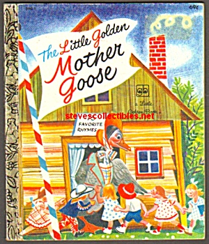 LITTLE GOLDEN MOTHER GOOSE - Little Golden Book (Image1)