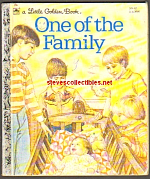 One Of The Family - Little Golden Book