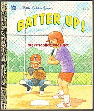 BATTER UP! - Little Golden Book (Image1)