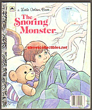 The Snoring Monster - Little Golden Book