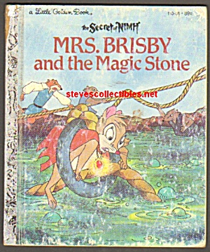 Mrs. Brisby And The Magic Stone- Little Golden Book