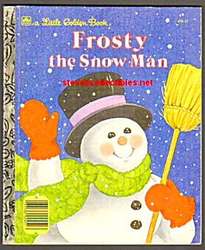 FROSTY THE SNOWMAN - Little Golden Book (Image1)