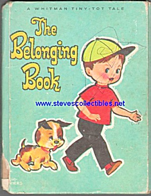 The Belonging Book Whitmantiny Tot Tale Book - 1968
