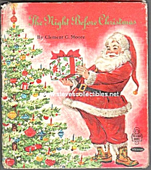 THE Night Before Christmas TELL-A-TALE BOOK #2517 (Image1)