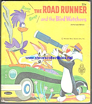 THE ROAD RUNNER AND THE BIRD WATCHERS Tell-A-Tale Book (Image1)