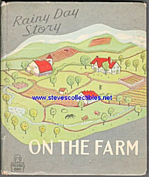 Rainy Day Story On The Farm - Tell-a-tale Book