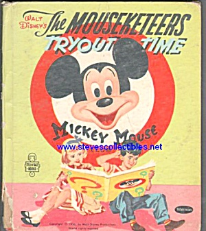 THE MOUSEKETEERS TRYOUT TIME - Tell-A-Tale Book (Image1)