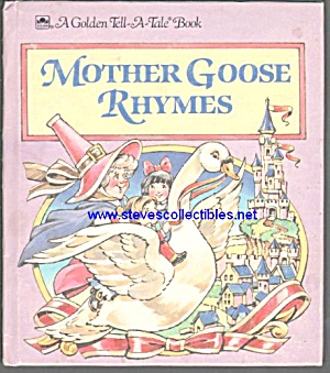 MOTHER GOOSE RHYMES - Tell-A-Tale Book (Image1)