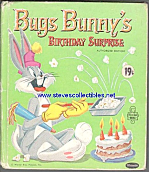 BUGS BUNNYS BIRTHDAY SURPRISE - Tell-A-Tale Book (Image1)