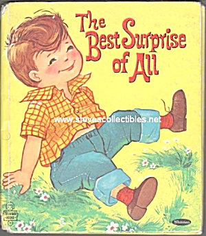 The Best Surprise Of All - Tell-a-tale Book - 1961