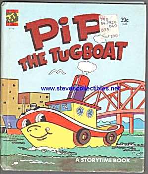 Pip The Tugboat Storytime Book - 1978