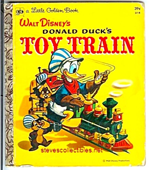 Donald Ducks Toy Train Little Golden Book