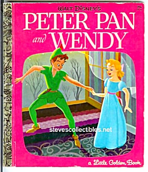 Peter Pan And Wendy Disney Little Golden Book Little