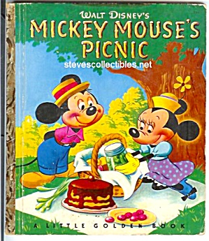 Mickey Mouse Picnic Little Golden Book