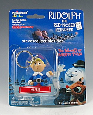 RUDOLPH AND MISFIT TOYS Herbie KEYCHAIN (Image1)