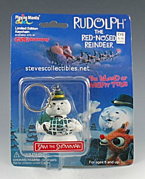 RUDOLPH AND MISFIT TOYS Sam Snowman KEYCHAIN (Image1)