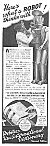 1939 Robot Mechanical Man Mag. Ad
