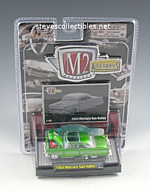 1954 Mercury Sun Valley Diecast Toy M2 Auto-thentics