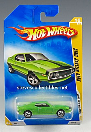 AMC JAVELIN AMX Hot Wheels Toy  MOC (Image1)