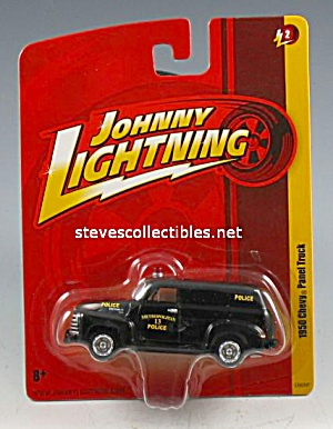 1950 Chevy Panel Truck Johnny Lightning Diecast Toy