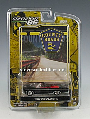 1965 Ford Galaxie 500 Convert. Diecast Toy- Greenlight