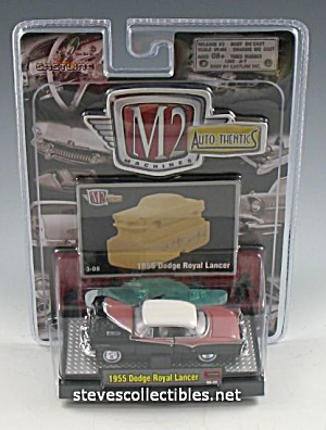 1955 DODGE ROYAL LANCER Diecast Toy M2 Auto-Thentics (Image1)