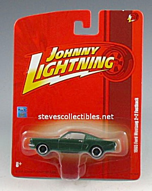 1965 Ford Mustang Fastback Johnny Lightning Diecast Toy