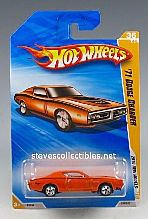 1971 DODGE CHARGER Hot Wheels Toy  MOC (Image1)