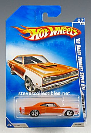 1969 DODGE CORONET SUPER BEE Hot Wheels Toy  MOC (Image1)
