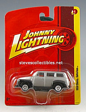 1950 CHEVY SUBURBAN Johnny Lightning Diecast Toy (Image1)