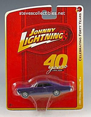 1965 Chevy Impala Ss Johnny Lightning Diecast Toy