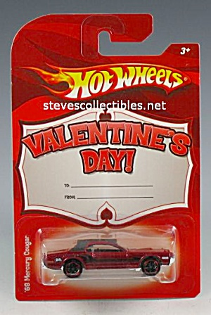 1968 MERCURY COUGAR Valentines Hot Wheels Diecast Toy (Image1)
